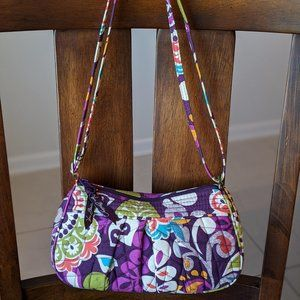 Vera Bradley Plum Crazy Frannie Crossbody